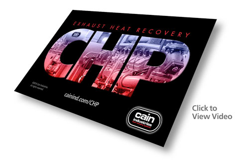 CHP | Combined Heat and Power Exhaust Heat Recovery Video