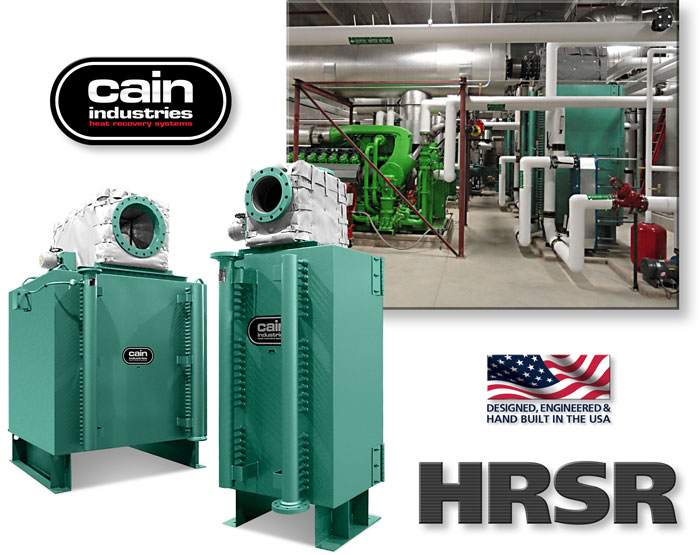 HRSR | Exhaust Heat to Liquid Exchangers