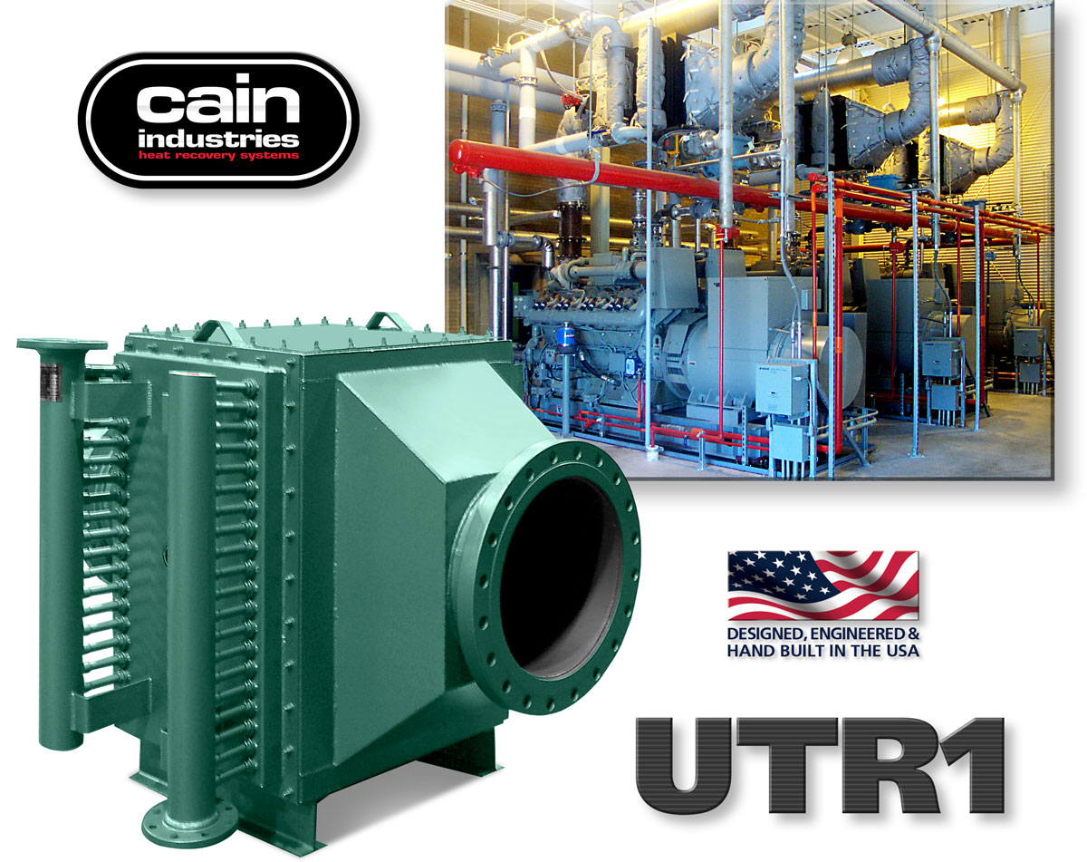 UTR1 | Compact Exhaust Heat Exchangers