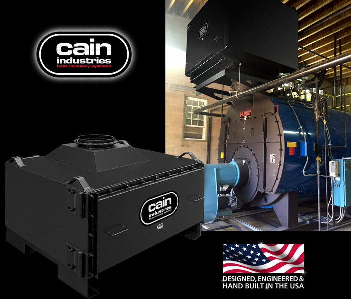 Cain Industries CXL - Single Stage Condensing Boiler Economizer Series