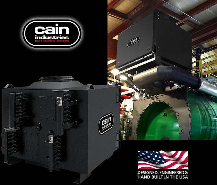 Cain Industries DXL - Two Stage Condensing Boiler Economizer Series