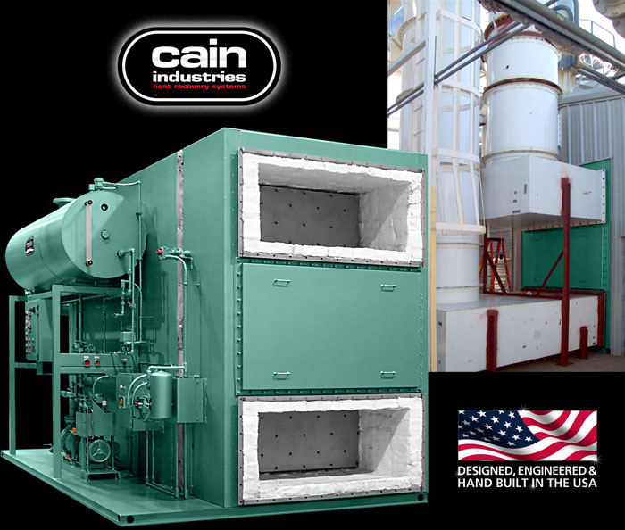 Cain Industries ESG - Exhaust Steam Generation Fume Incineration Series