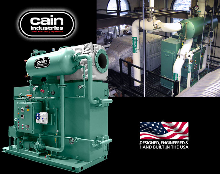 HRSG - Heat Recovery Steam Generators | Cain Industries