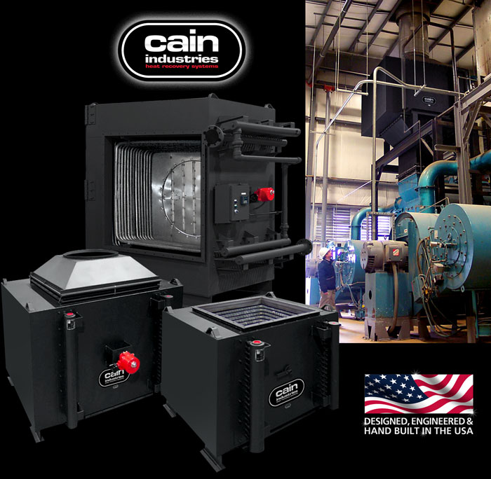 Cain Industries RTR - Rectangular Tube Recovery Boiler Economizer Series