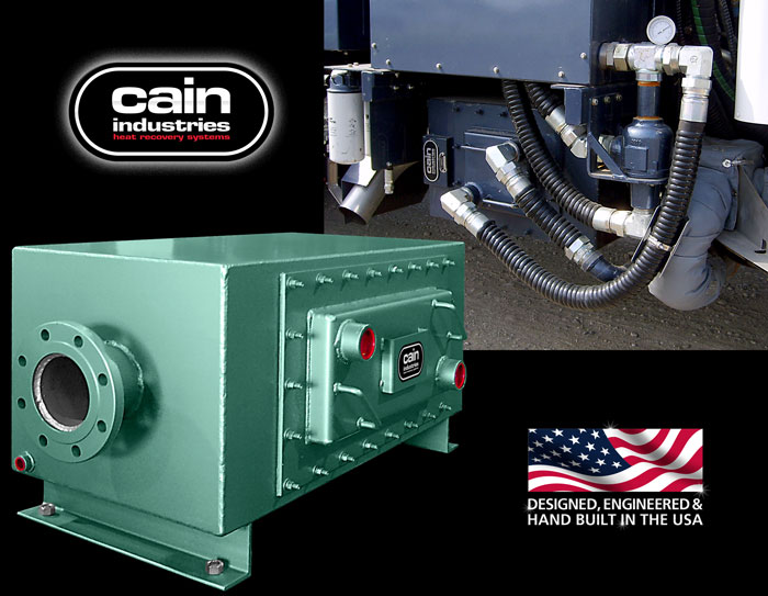 Cain Industries UTR - U-Tube Recovery Cogeneration Series