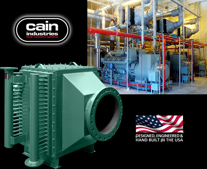 Cain Industries UTR1 - U-Tube Recovery 1 Cogeneration Series