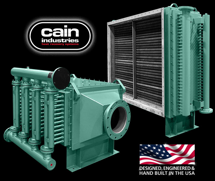 Cain Industries UTR1 - U-Tube Recovery 1 Fume Incineration Series