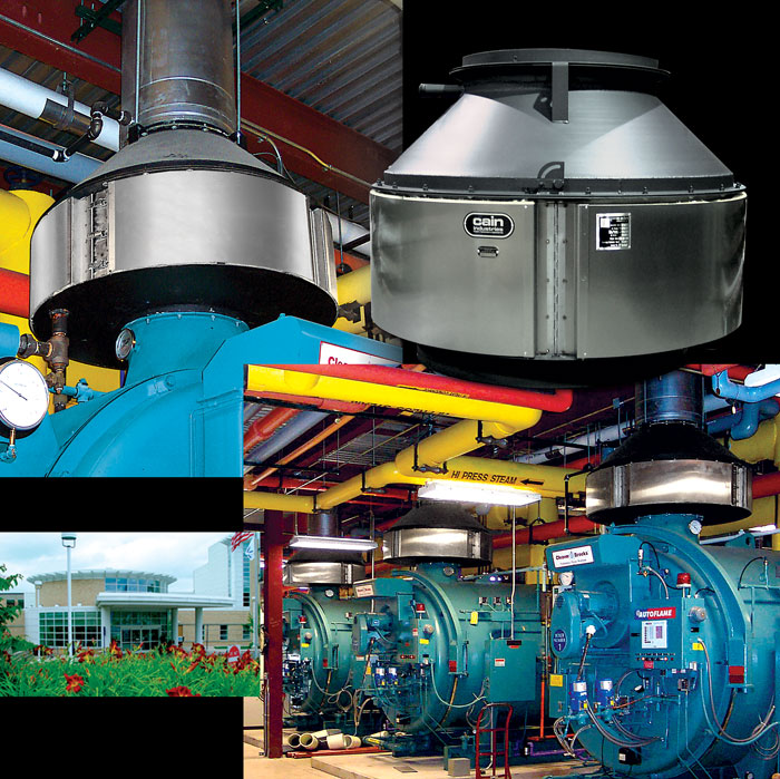 Hospital Exhaust Heat Recovery Case Study