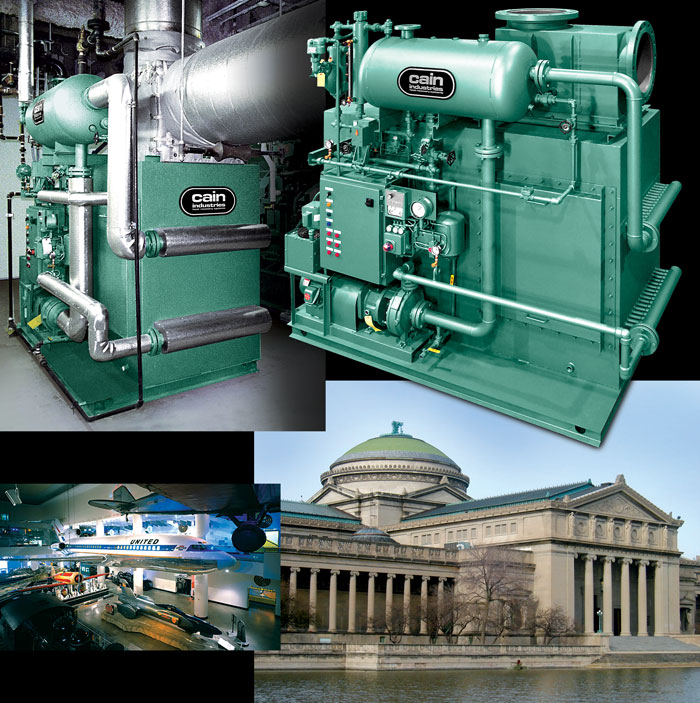 Museum Exhaust Heat Recovery Case Study