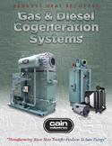 Gas and Diesel Cogeneration Systems