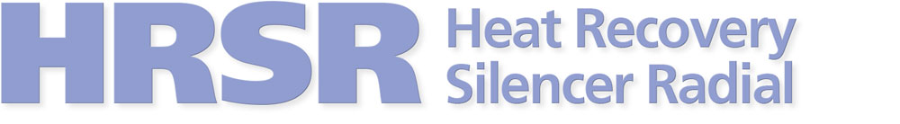 HRSR | Heat Recovery Silencer Radial