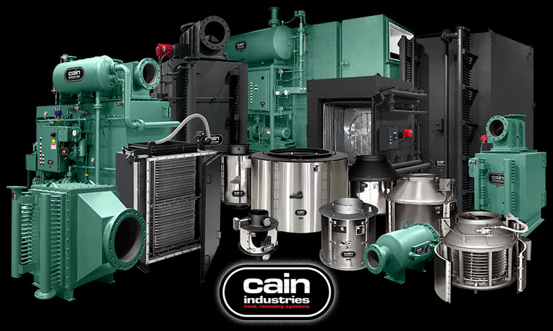Cain Industries Exhaust Heat Recovery Product Family