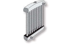 Finned Tube Radiator Application
