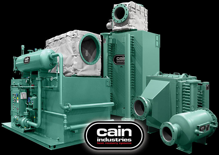 Cain Industries Gas & Diesel Cogeneration Systems