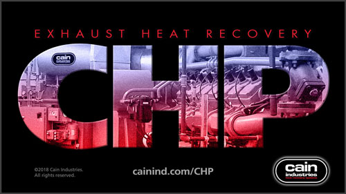 CHP Exhaust Heat Recovery