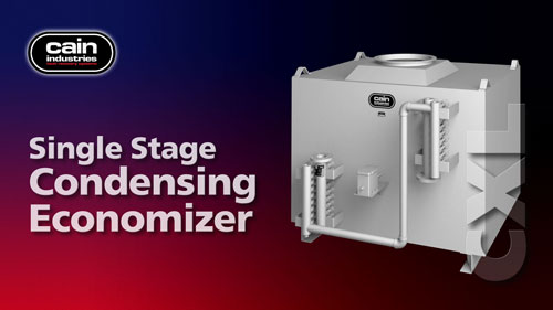 CXL | Single Stage Exhaust Condensing Boiler Economizer