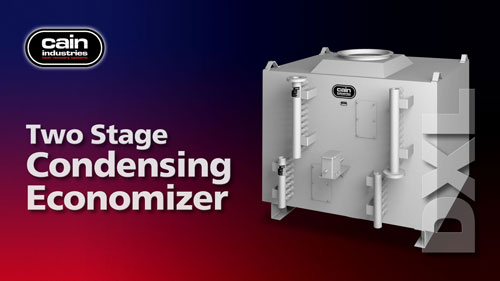 DXL | Two Stage Exhaust Condensing Boiler Economizer
