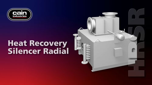 HRSR | Heat Recovery Silencer Radial Cogeneration